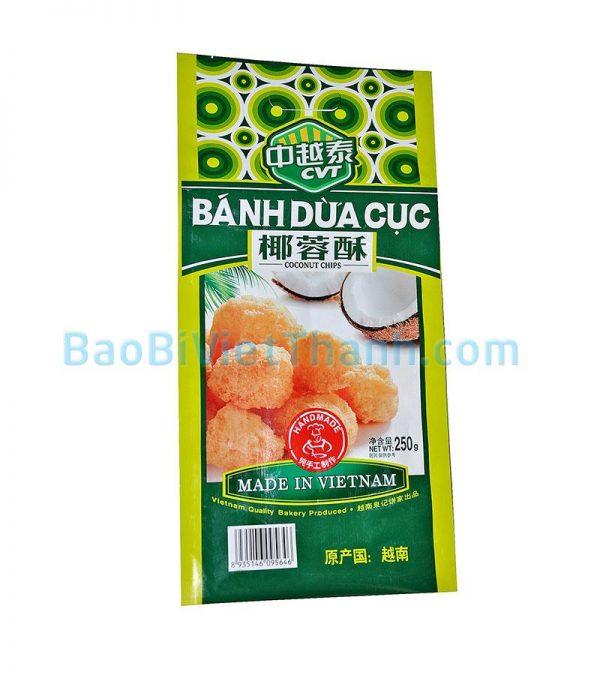 Bao bì bánh kẹo - Bánh dừa cục