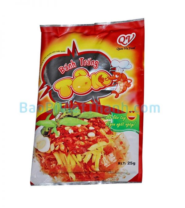 Bao bì thực phẩm khô - Bánh tráng tôm